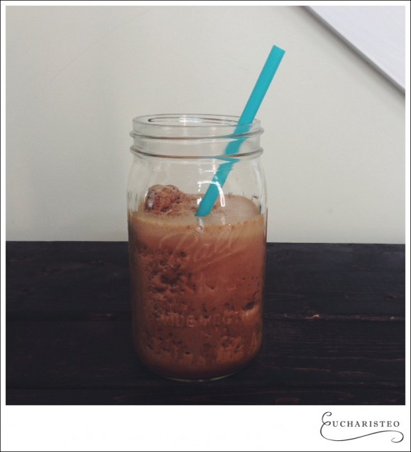 Chocolate Chip Fat Stripping Frappe - Eucharisteo.com